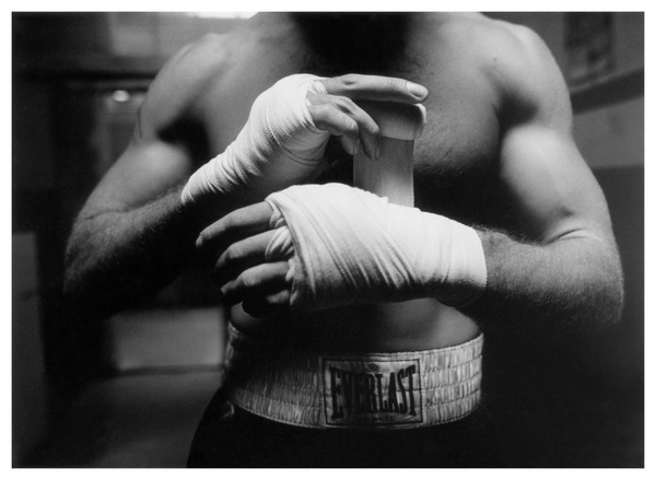 SPARRING BOXING BANDAGE PARIS 1992