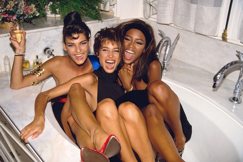 """Three Models in a Tub"" 1990"